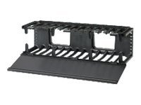 Panduit Horizontal Cable Manager High Capacity Front Only 3U, NMF3, 13750732, Rack Cable Management