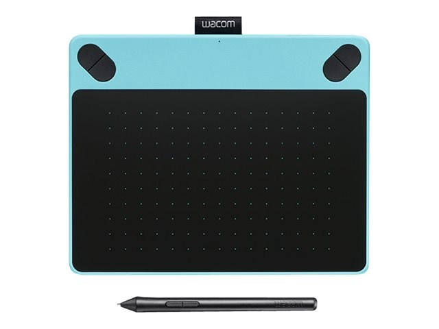 Wacom Intuos Art, Blue, Small w  Tablet, Pen, Nibs, S W, USB Cable, CTH490AB