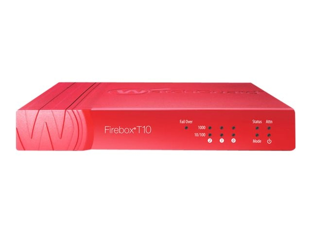 Watchguard T U TO Firebox T10  w 3YR Security Suite, WGT10083-US, 16913189, Network Firewall/VPN - Hardware