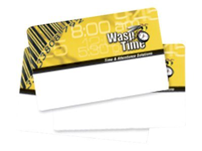Wasp Wasptime MagStripe Badges - Sequence 251-300 (50 Badges), 633808550981, 15013525, Paper, Labels & Other Print Media