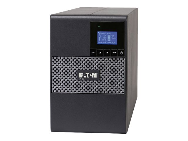 Eaton Series 5P 1000VA 770W 120V Tower UPS, 5-15P Input, (8) 5-15R Outlets, Instant Rebate - Save $30