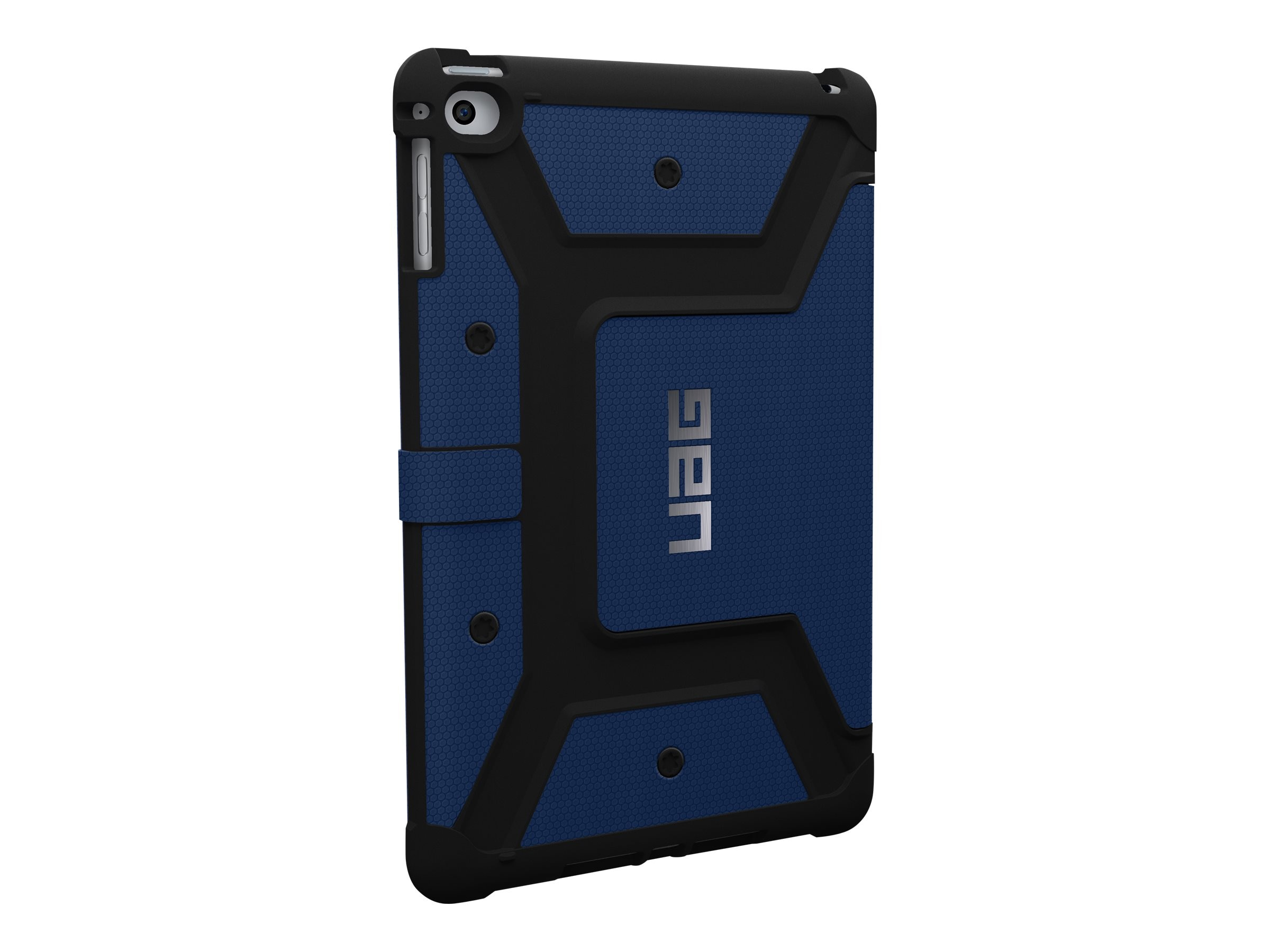 Urban Armor Folio Case for iPad mini 4 mini 4 Retina, Cobalt Black, UAG-IPDM4-CBT-VP