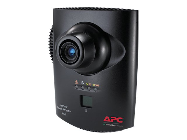 APC NetBotz Room Monitor 455 with 120 240V PoE Injector, NBWL0456, 9742801, Security Hardware