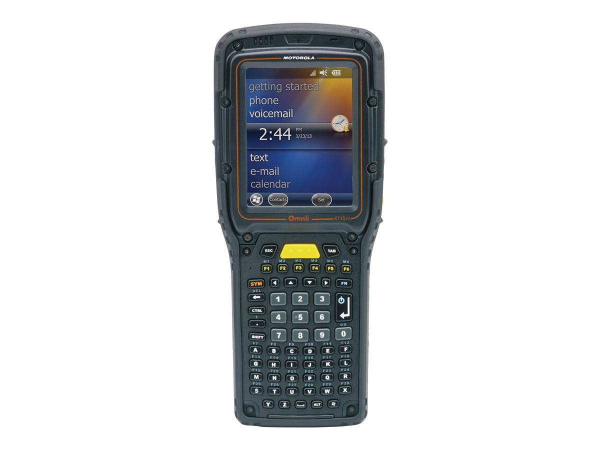 Zebra Symbol Omnii XT15ni WL Handheld Mobile Computer for Hazardous Environments w  Std Range 1D Laser Scanner