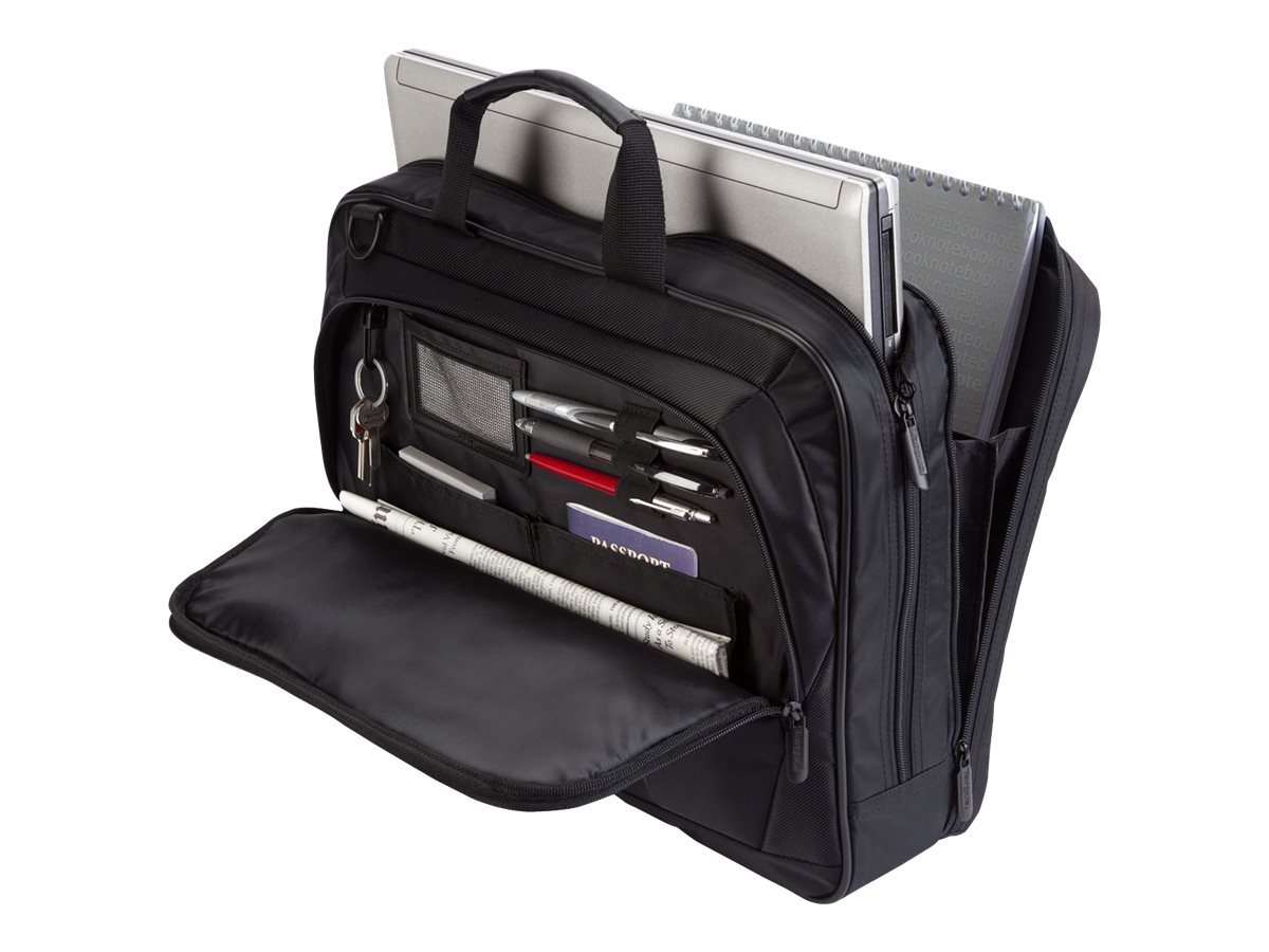 Targus CityLite Topload Notebook Case, Fits 15.6, Black, TBT053US