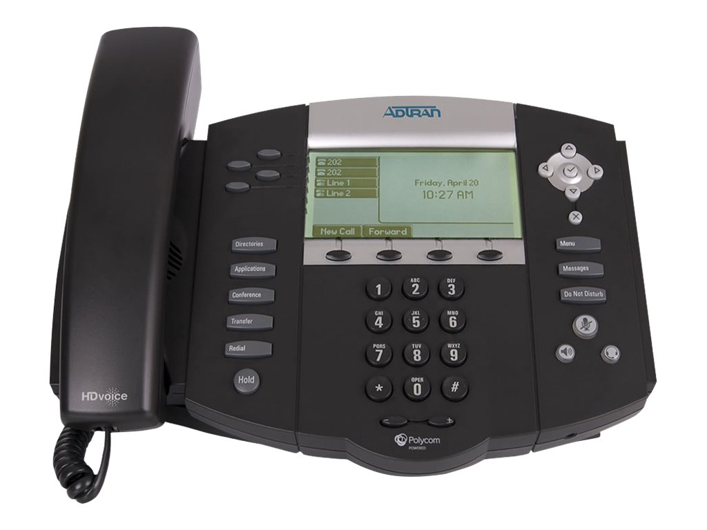 Adtran Netvanta 7000, 1202755G1, 15386137, VoIP Phones