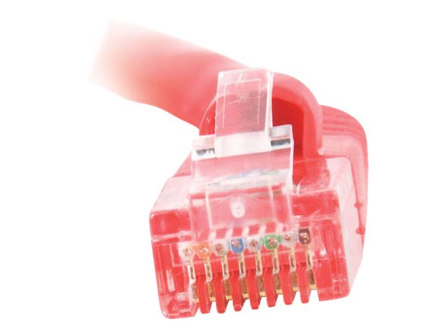 C2G Cat5e Snagless Unshielded (UTP) Network Patch Cable - Red, 2ft, 00420