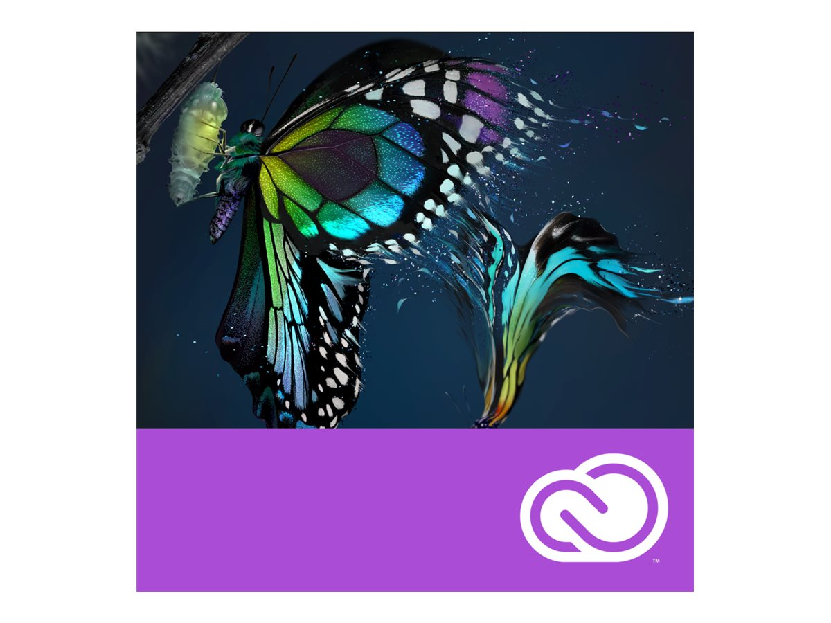 Adobe Corp.VIP Premiere Pro Creative Cloud License Subscription 12 Month Level 1 1-49, 65225124BA01A12, 18407191, Software - Video Editing
