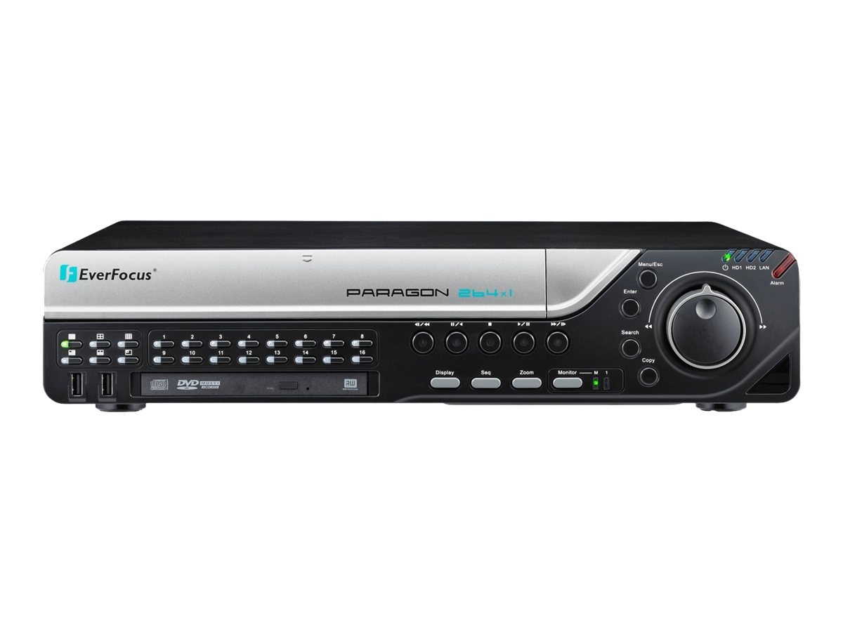 Everfocus 16-Channel DVR, 1TB, PARAGON264X1/1TB