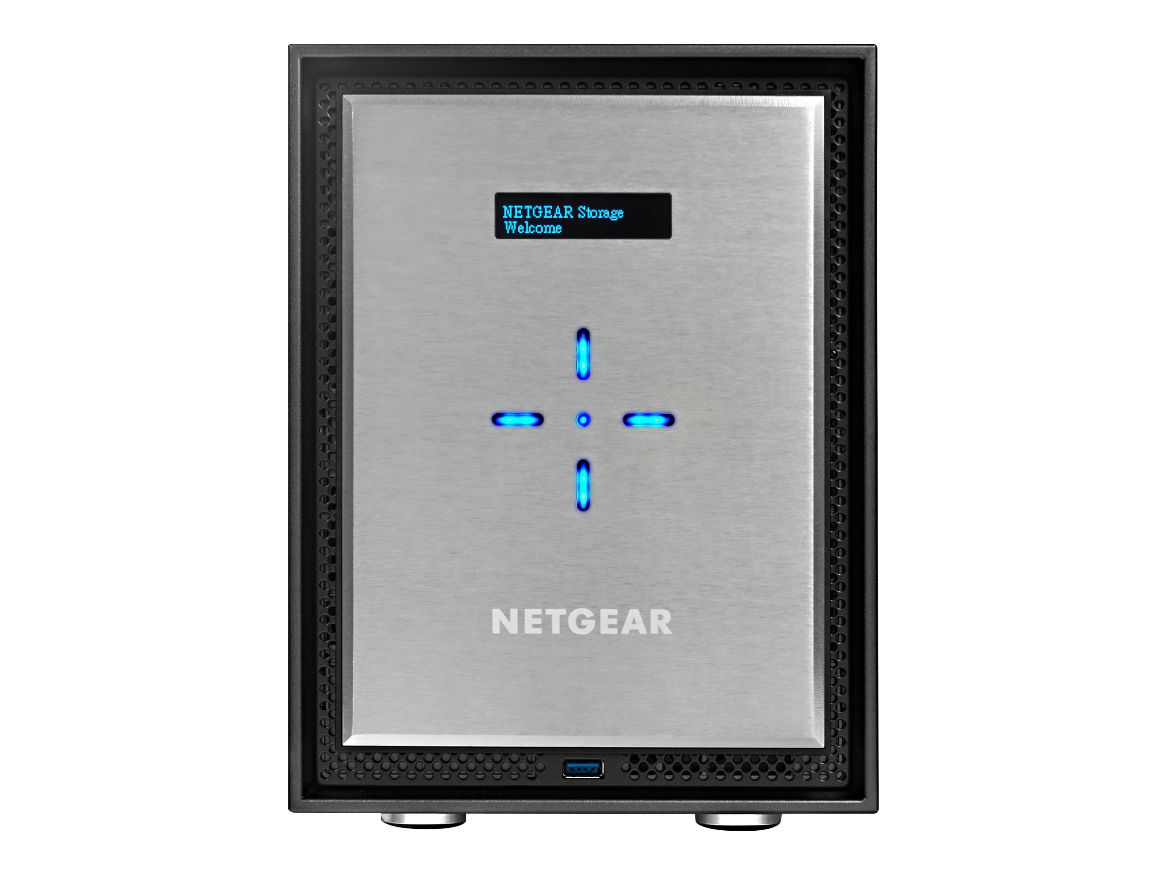 Netgear ReadyNAS 526X 6-Bay Network Storage w  6x4TB Desktop Hard Drives, RN526XD4-100NES