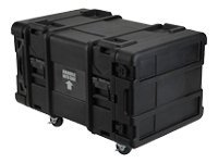 Stephen Gould 6U Deep Roto Shock Rack 28 x 19 x 10.5 Stackable Black, 3SKB-R906U28, 8292781, Rack Mount Accessories