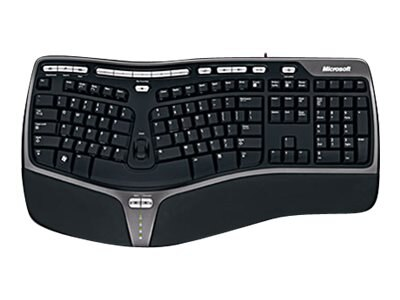 Microsoft Natural Ergonomic Keyboard 4000 for Business Win32 USB Port English, 5QH-00001, 12639750, Keyboards & Keypads