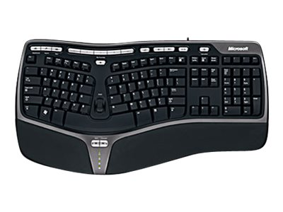 Microsoft Natural Ergonomic Keyboard 4000 for Business Win32 USB Port English
