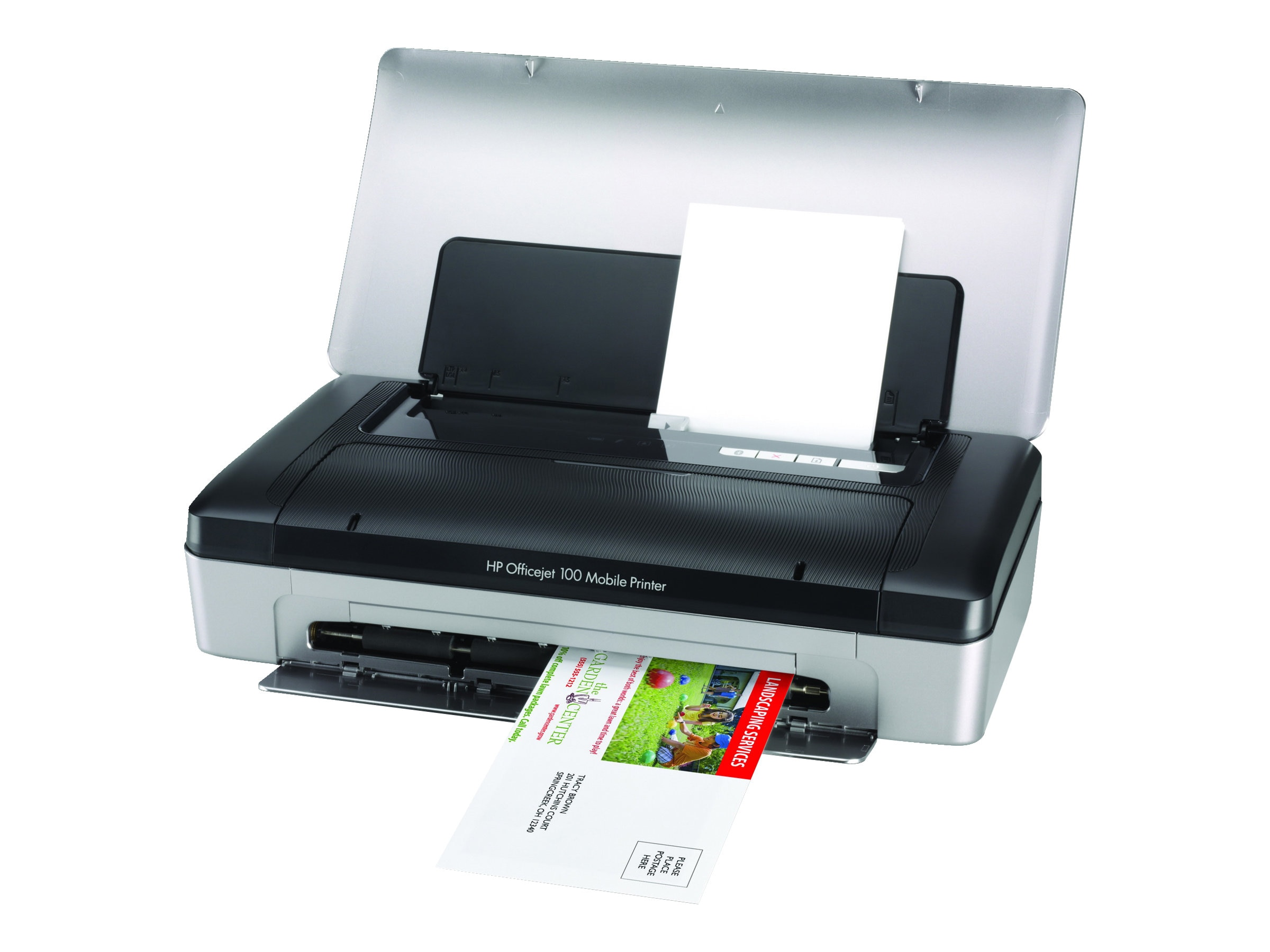 HP Officejet 100 Mobile Printer, CN551A#B1H, 12436119, Printers - Ink-jet