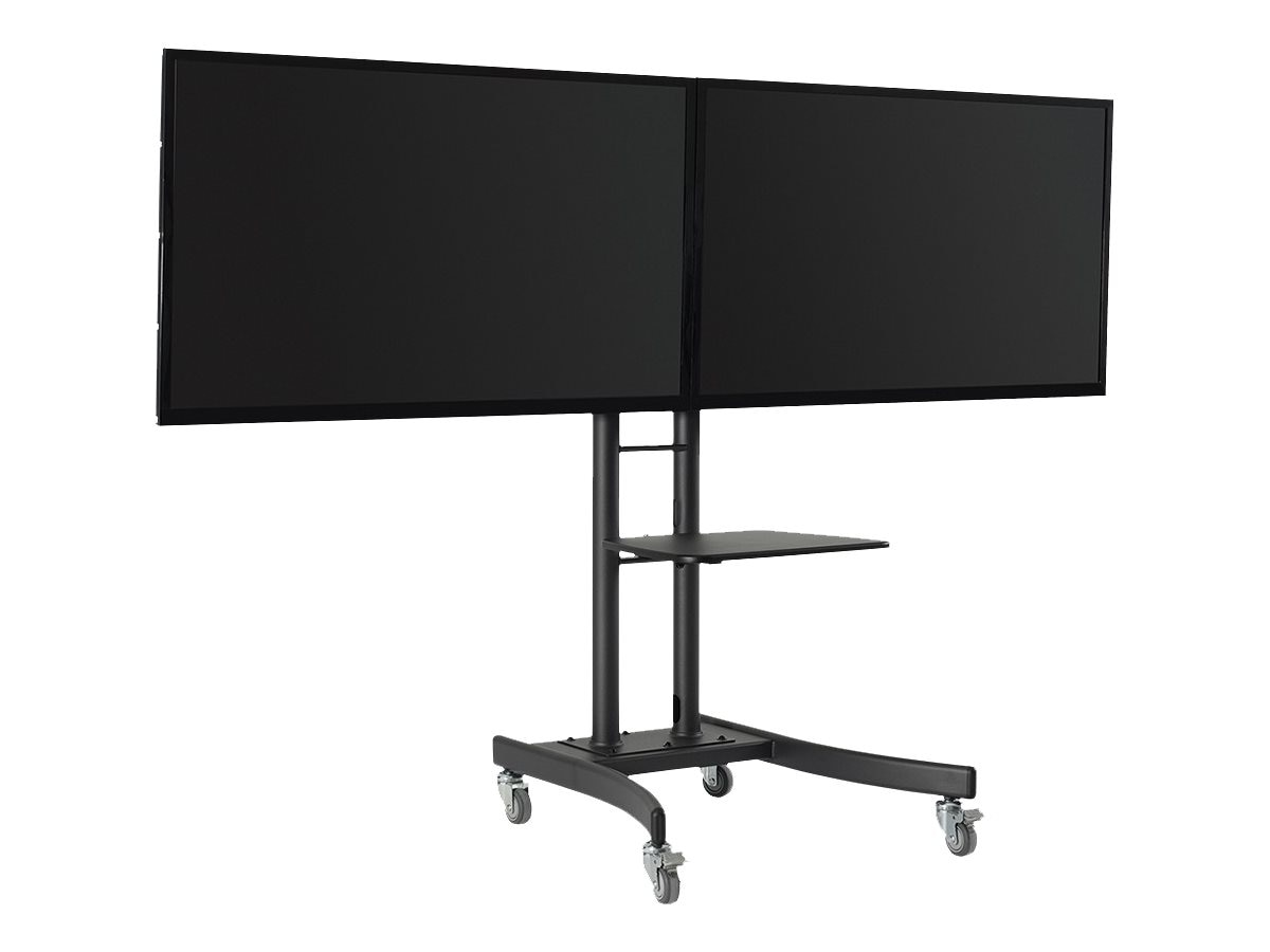 Atdec Mobile TV Cart Dual Display, TH-TVCD, 16649963, Stands & Mounts - AV