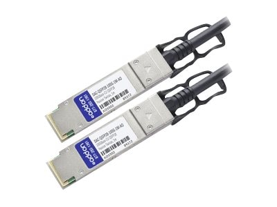 ACP-EP Dell Compatible 100GBase-CU QSFP28 to QSFP28 Direct Attach Cable, 1m, DAC-QSFP28-100G-1MAO