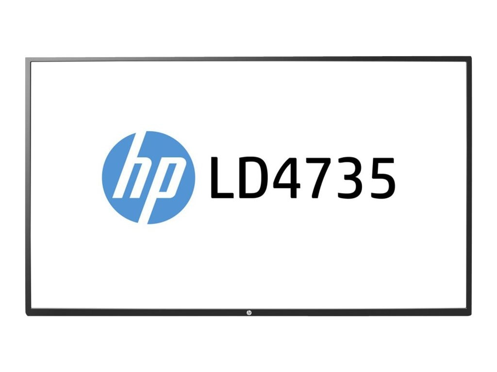 HP 47 LD4735 Full HD LED-LCD Display, Black, F1M94AA#ABA, 17797571, Monitors - Large-Format LED-LCD