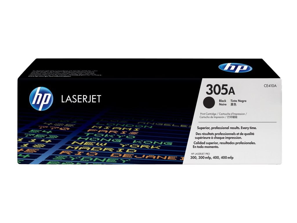 HP 305A Black Toner Cartridge for HP LaserJet Pro Printers (TAA Compliant), CE410AG, 15893260, Toner and Imaging Components