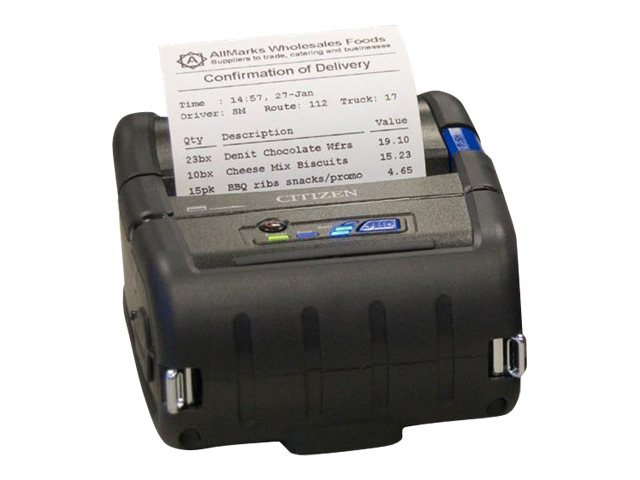 Citizen CBM CMP-30 3 USB Serial Bluetooth Mobile Receipt Printer, CMP-30BTU, 12579591, Printers - POS Receipt
