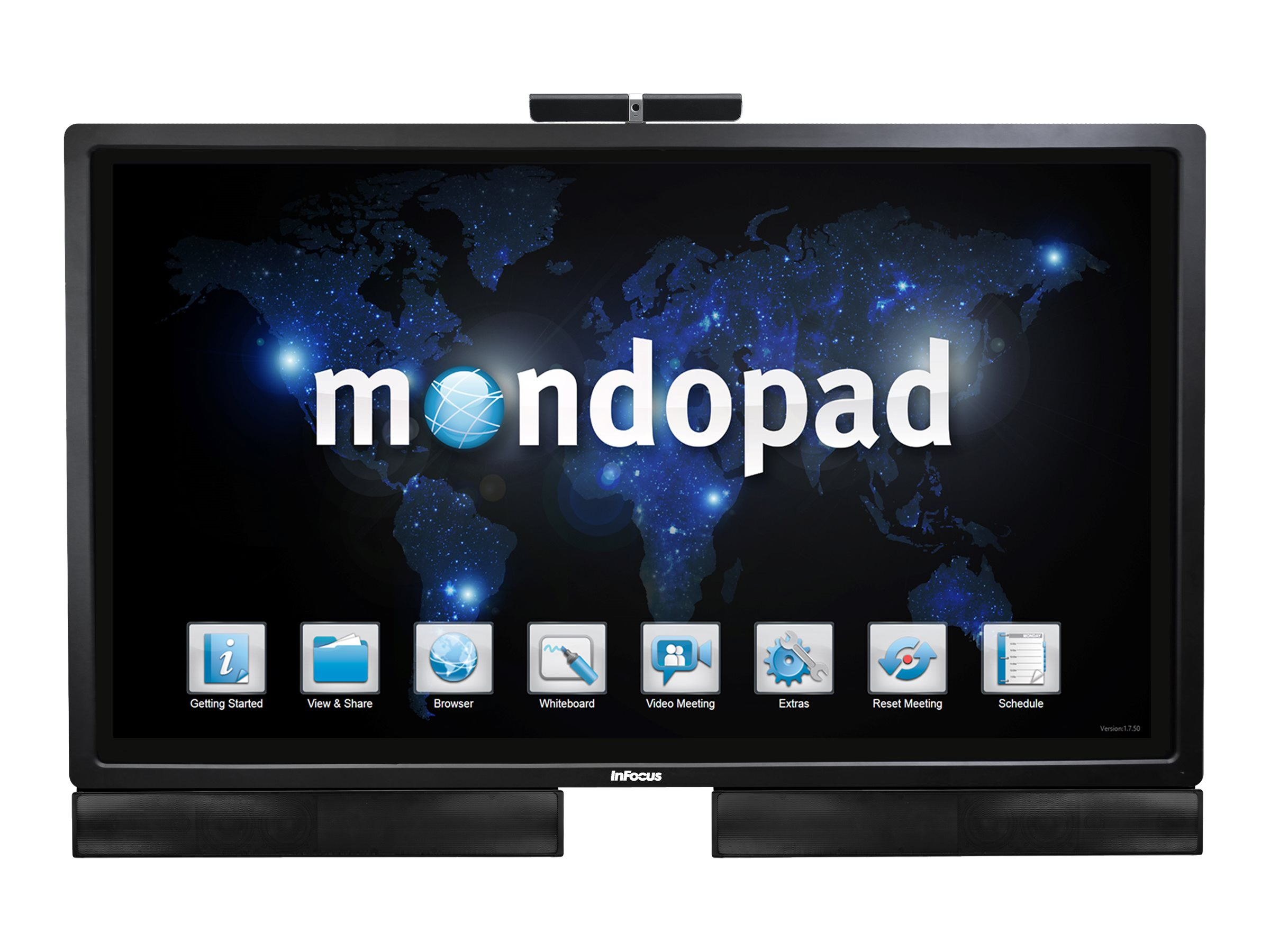 InFocus 70 LCD Mondopad Multi-Touch, INF7021-KIT, 16217132, Audio/Video Conference Hardware