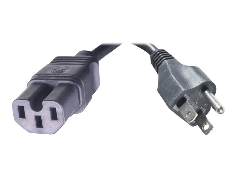 HPE Power Cord C15 to NEMA 5-15P, 2.5m