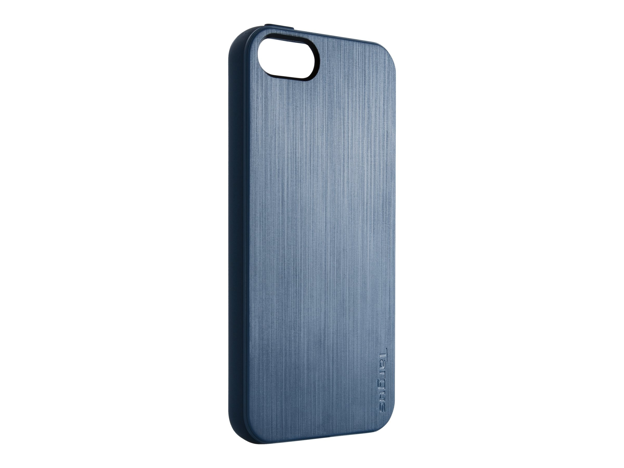 Targus Slim-Fit Back Cover for iPhone 5, Blue, THD03102US, 14765670, Carrying Cases - Phones/PDAs