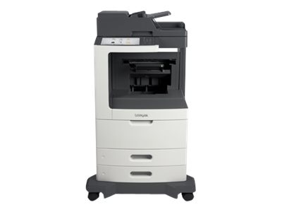 Lexmark MX812dfe Monochrome Laser Multifunction Printer, 24T7432