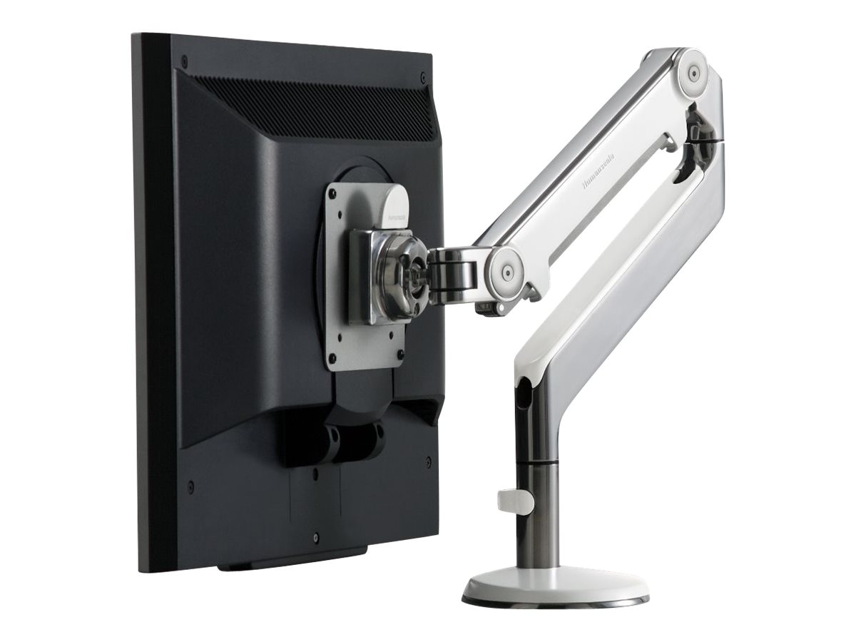 Humanscale M2 Monitor Arm with Clamp Mount, White