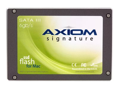 Axiom 120GB Mac Pro Signature III Series SATA 6Gb s High Speed Async MLC Internal Solid State Drive, AMPSSDA32120-AX