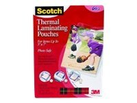 3M 5.31 x 7.28 Thermal Pouches for Photos, 20-Pack, TP5903-20, 12268160, Office Supplies