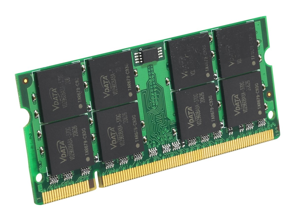 Edge 4GB PC2-5300 200-pin DDR2 SDRAM SODIMM, PE219215, 9405215, Memory