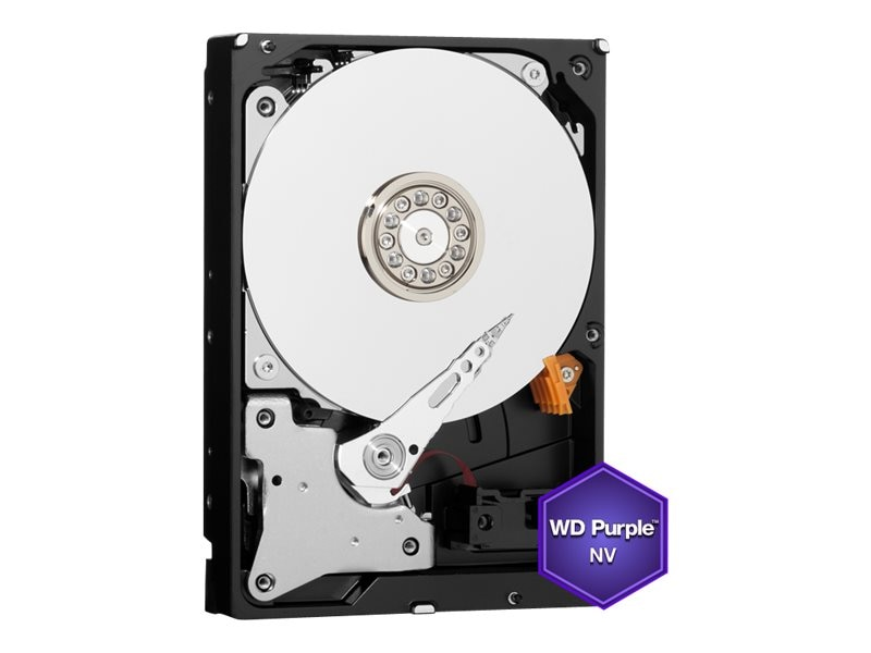 WD 4TB WD Purple NV SATA 6Gb s 3.5 Internal Hard Drive, WD4NPURX, 22706186, Hard Drives - Internal