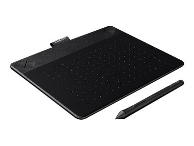 Wacom Intuos Photo Pen and Touch Tablet, Small, Black, CTH490PK