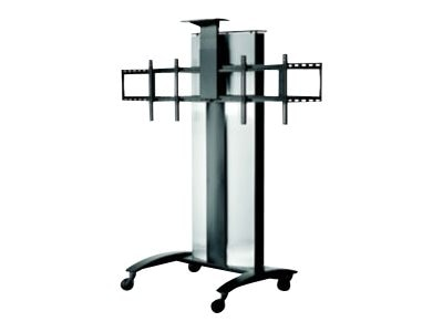 Peerless Flat Panel Video Conference Cart for Two (2) 40-55 Displays, SR555E, 24400375, Stands & Mounts - AV