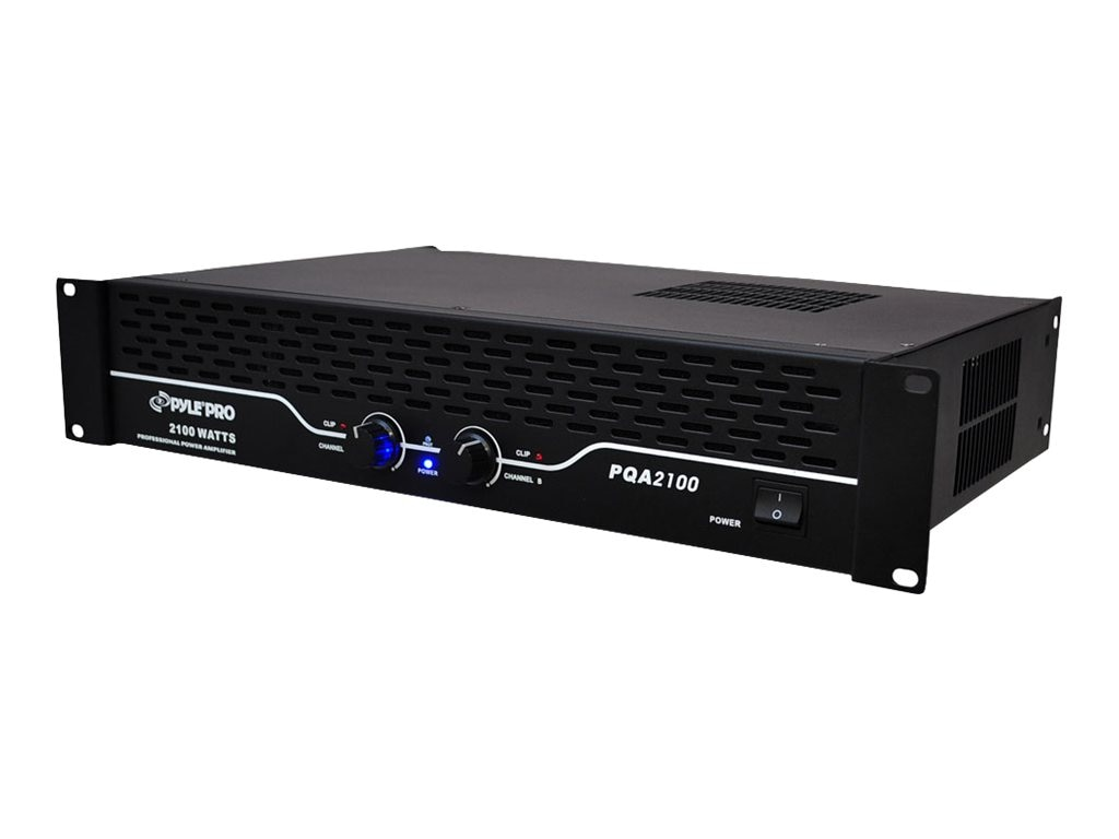 Pyle 19 Rack Mount 2100 Watt Professional Power Amplifier