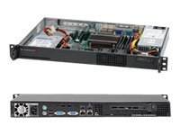 Supermicro Barebone, SuperServer 5017C-LF Intel C202, Core i3 Family, Max 32GB DDR3, 1x3.5, 200W PS, Black