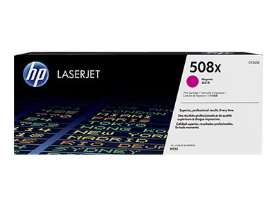 HP 508X Magenta LaserJet Toner Cartridge w  JetIntelligence for M552 M553 series
