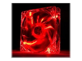 Thermaltake Pure 12 LED Fan, Red, CL-F019-PL12RE-A, 16956541, Cooling Systems/Fans
