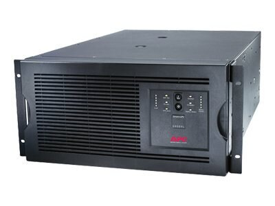 APC Smart-UPS 5000VA 4000W International 5U Rackmount Tower UPS, (8) C13, (2) C19 Outlets, Web SNMP Card, SUA5000RMI5U, 8063073, Battery Backup/UPS