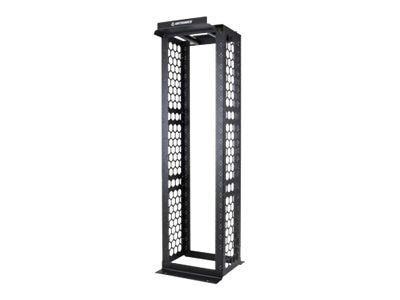 Ortronics MM10 Cable Management Rack, Black, MM10816
