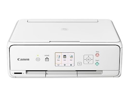 Canon PIXMA TS5020 Wireless Inkjet All-In-One Printer - White, 1367C022, 33566086, MultiFunction - Ink-Jet