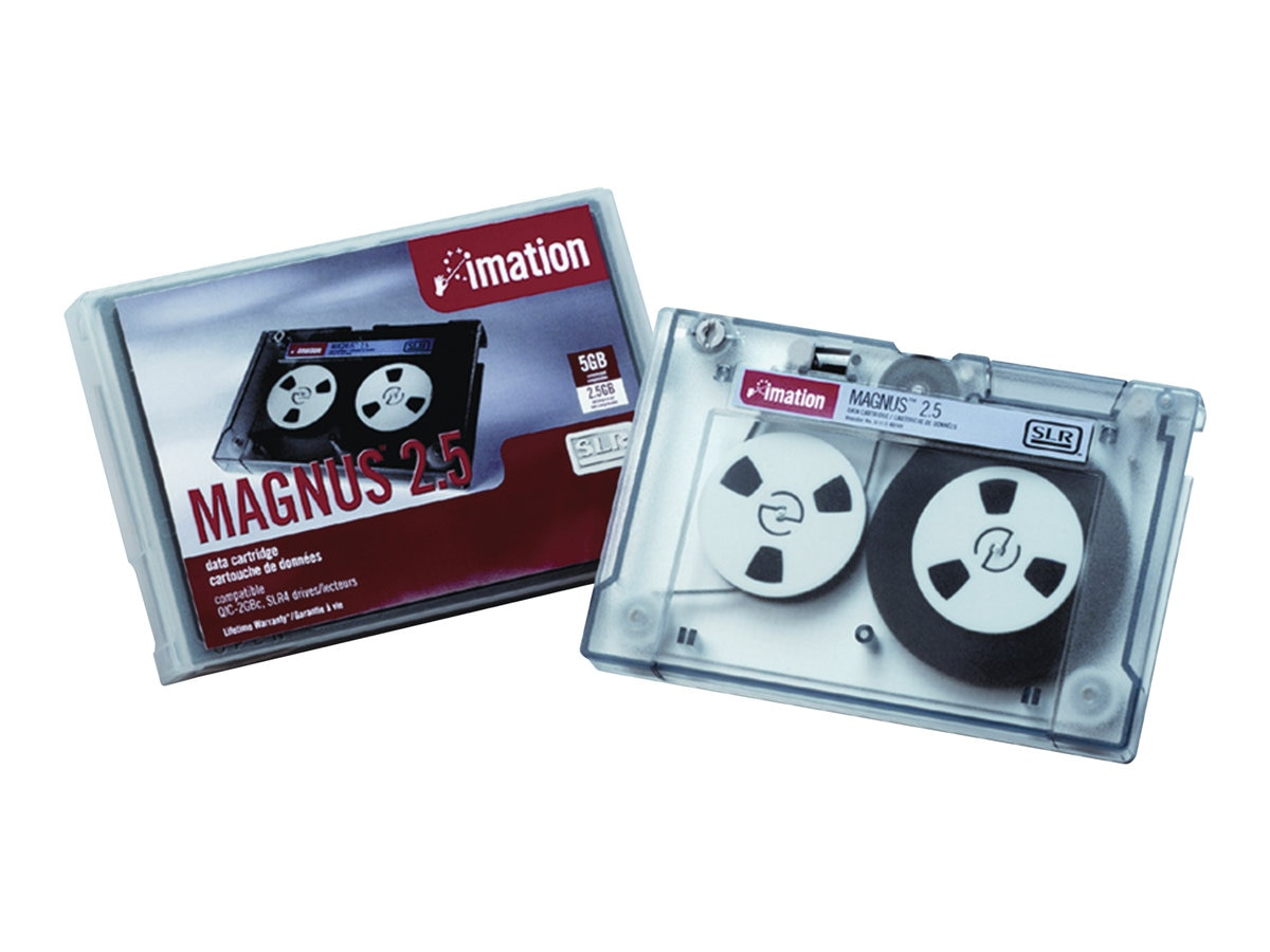 Imation Magnus 2.5GB Data Cartridge, 46168, 37657, Tape Drive Cartridges & Accessories