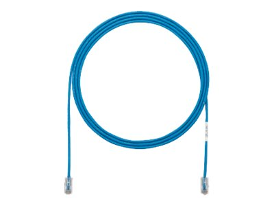 Panduit Cat5E 28AWG UTP Patch Cable, Blue, 7ft, UTP28CH7BU
