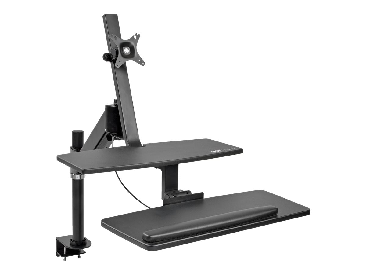 Tripp Lite WorkWise Single-Monitor Standing Desk-Clamp Workstation for 13-27 Displays