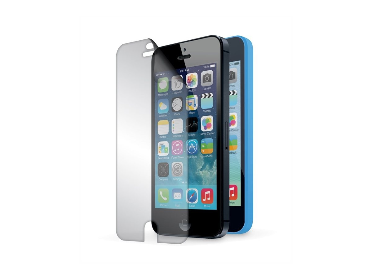 Griffin TotalGuard ScreenCare iPhone5C, GB38279, 16273169, Protective & Dust Covers