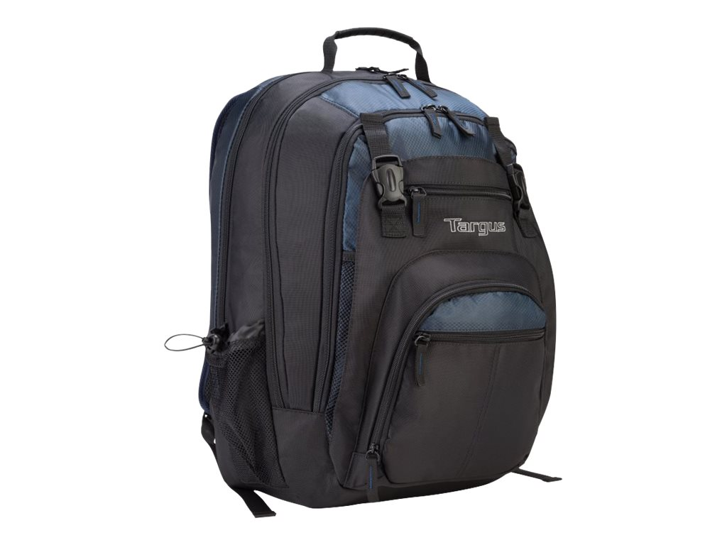 Targus 17 XL Notebook Backpack, Black Blue, TXL617