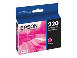 Epson Magenta DuraBrite Ultra Ink Cartridge for WF-2630 2650, T220320, 18227051, Ink Cartridges & Ink Refill Kits