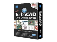 IMSI Corp. TurboCAD Deluxe 2015, 00TCD522CC01, 30768563, Software - CAD