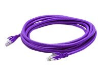 ACP-EP CAT6 Patch Cable, Purple, 3ft