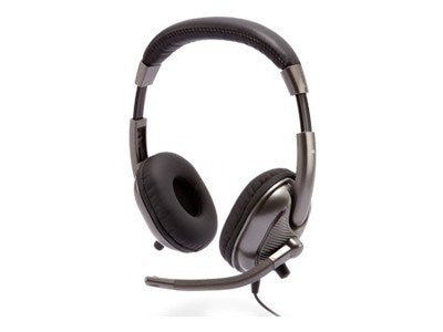 Cyber Acoustics AC-8000 Stereo Headset for Kids, Silver
